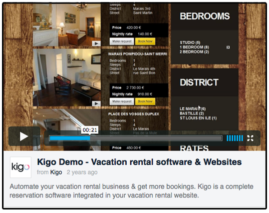 Sample Vacation Rental Video Image