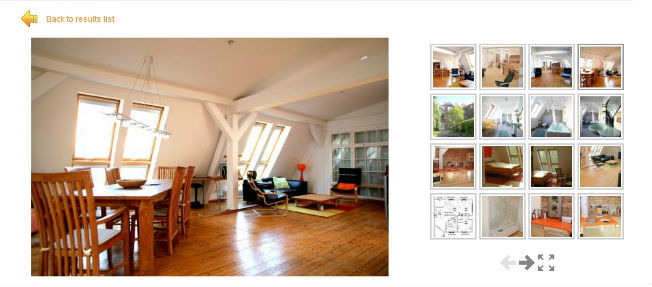 Vacation Rental Website Image Showcase Sample