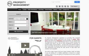 Vacation Rental Website Samples: FG Property Management