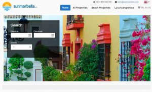 Vacation Rental Website Samples: SunMarbella