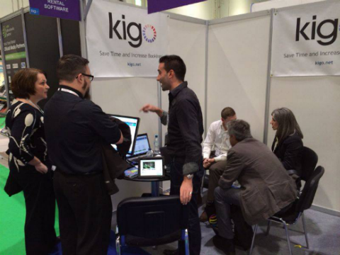 travel tech show kigo demo
