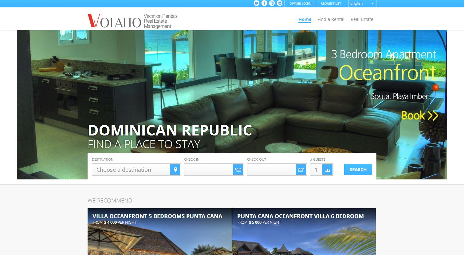 Vacation Rental Sample Volalto Group
