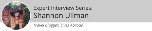 Shannon Ullman Lives Abroad Banner