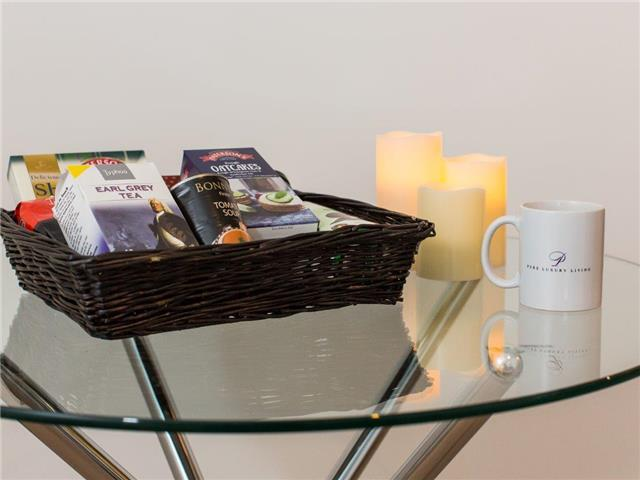 Pure Luxury Living Welcome Basket