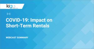 COVID-19: Impact on Short-Term Rentals (Webcast Summary)